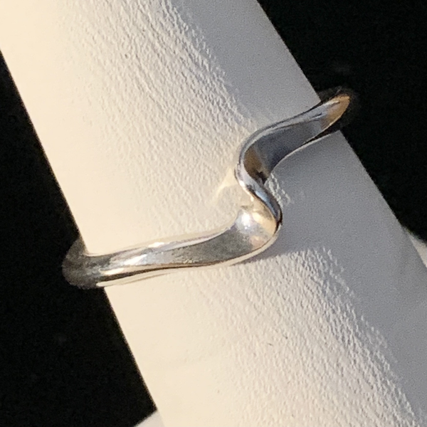 "Silver ""S"" Ring - Style H"