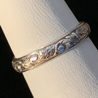 Silver Ring - Patterned - Style L
