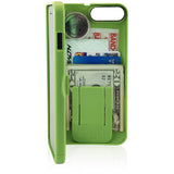 wallet case for iPhone 7 - green - eyn