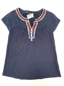 Lucky Brand Short Sleeve Top Size Extra Small