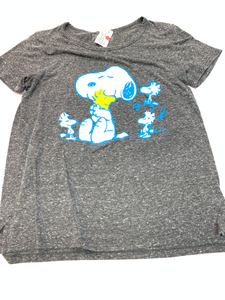 Peanuts Short Sleeve Top Size Large