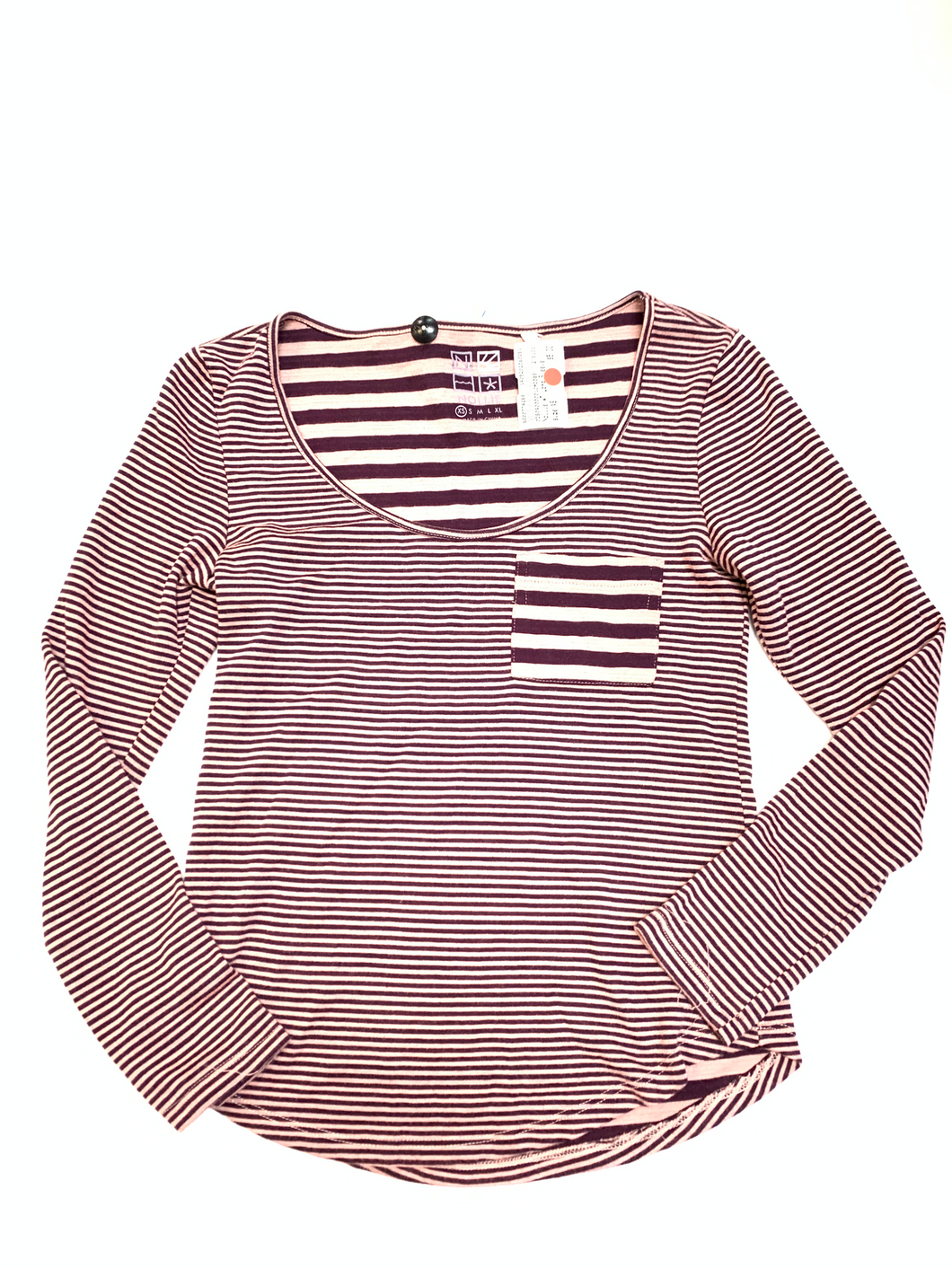 Nollie Long Sleeve Top Size Extra Small