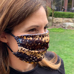 Load image into Gallery viewer, Cheetah Print Women's Face Mask - Made in USA
