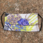 Load image into Gallery viewer, Lavender Rose Garden Women's Face Mask - Made in USA