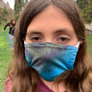Peacock Kid's Face Mask - Made in USA