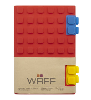 WAFF Journal - Red / Large - WAFF World Gifts Inc.