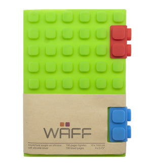 WAFF Journal - Green / Large - WAFF World Gifts Inc.