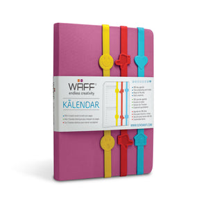 WAFF KALENDAR / FUCHSIA - WAFF World Gifts Inc.