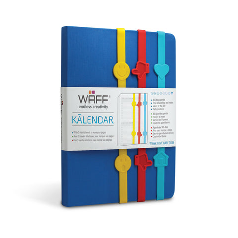 WAFF KALENDAR / ROYAL BLUE