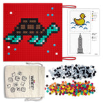 RED COLOUR MINI PUZZLE MAT TO DO PIXEL ART