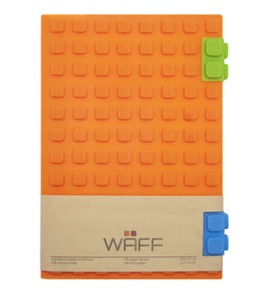 WAFF Journal - Orange / Large - WAFF World Gifts Inc.