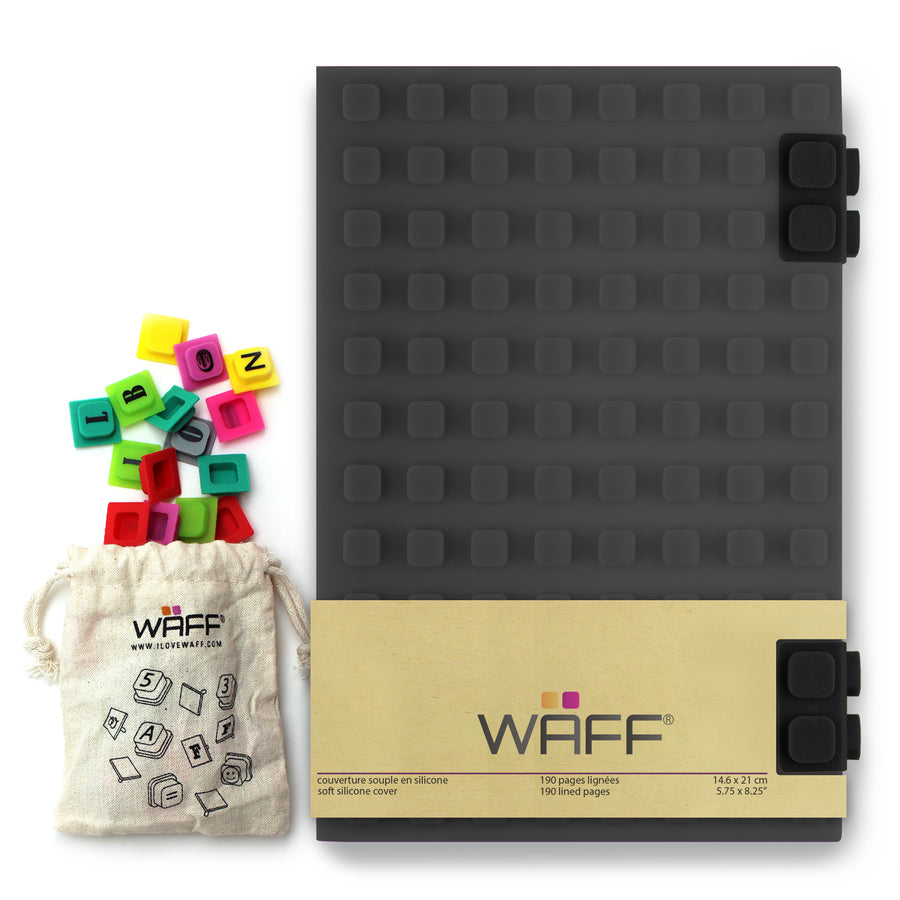 WAFF Combo Kit - Deep Grey / Large - WAFF World Gifts Inc.
