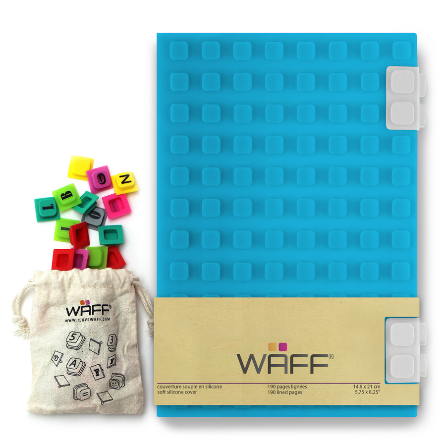 WAFF Combo Kit - Aqua / Large - WAFF World Gifts Inc.