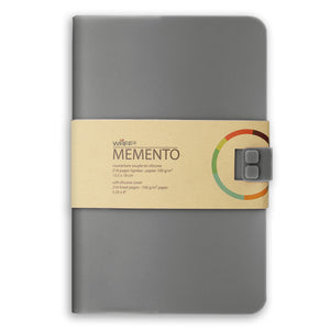 WAFF Memento Journal - Deep Grey / Large - WAFF World Gifts Inc.