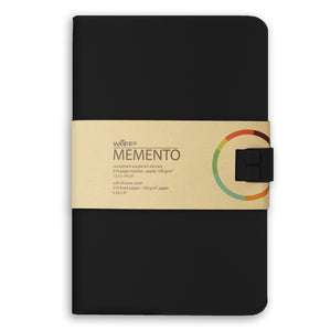 WAFF Memento Journal - Black / Large - WAFF World Gifts Inc.