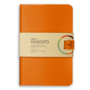 WAFF Memento Journal - Orange / Large - WAFF World Gifts Inc.