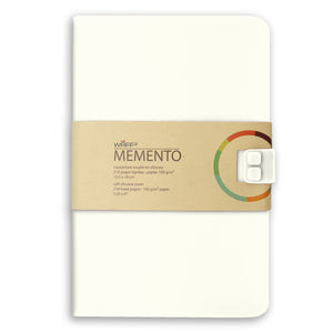 WAFF Memento Journal - Cream / Large - WAFF World Gifts Inc.
