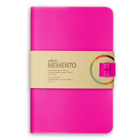 WAFF Memento Journal - Fuchsia / Large