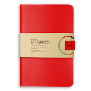 WAFF Memento Journal - Red / Large - WAFF World Gifts Inc.