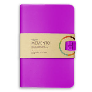 WAFF Memento Journal - Vibrant Purple / Large - WAFF World Gifts Inc.
