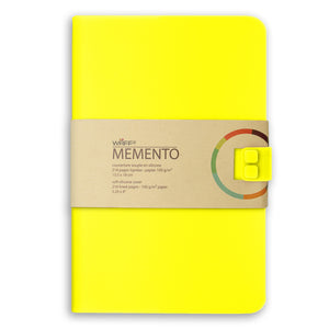 WAFF Memento Journal - Yellow / Large - WAFF World Gifts Inc.