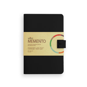 WAFF Memento Journal - Black / Medium - WAFF World Gifts Inc.