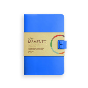 WAFF Memento Journal - Blue / Medium - WAFF World Gifts Inc.