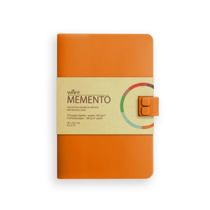 WAFF Memento Journal - Orange / Medium - WAFF World Gifts Inc.