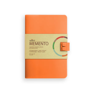 WAFF Memento Journal - Coral / Medium - WAFF World Gifts Inc.