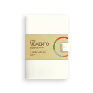 WAFF Memento Journal - Cream / Medium - WAFF World Gifts Inc.