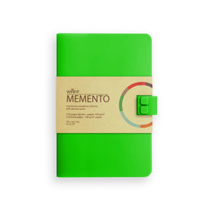 WAFF Memento Journal - Emerald Green / Medium - WAFF World Gifts Inc.