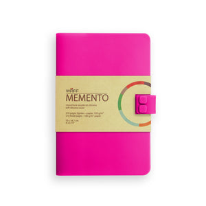 WAFF Memento Journal - Fuchsia / Medium - WAFF World Gifts Inc.
