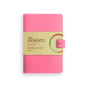 WAFF Memento Journal - Pink / Medium - WAFF World Gifts Inc.