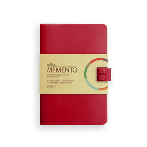 WAFF Memento Journal - Red Wine / Medium - WAFF World Gifts Inc.