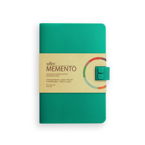 WAFF Memento Journal  - Teal / Medium - WAFF World Gifts Inc.