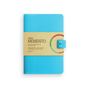 WAFF Memento Journal - Tiffany Blue / Medium - WAFF World Gifts Inc.