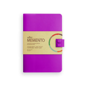 WAFF Memento Journal - Vibrant Purple / Medium - WAFF World Gifts Inc.