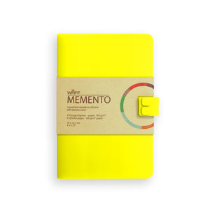 WAFF Memento Journal - Yellow / Medium - WAFF World Gifts Inc.