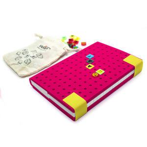 WAFF Mozaika Combo - Fuchsia / Medium - WAFF World Gifts Inc.