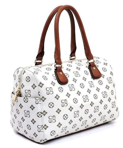 Monogrammed Boston Bag