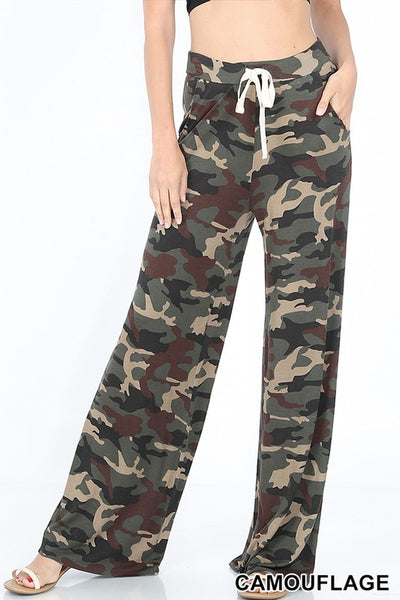 CAMOUFLAGE LOUNGE PANT