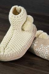 Snowflake Slippers