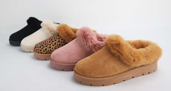 Fur Lined Slippers