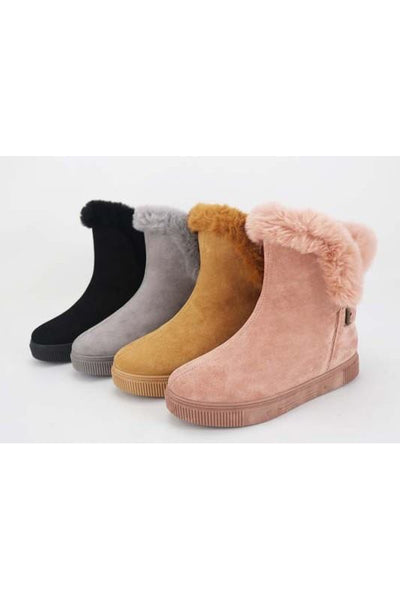 Cozette Fur-Lined Bootie