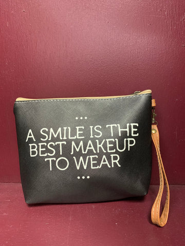 A Smile is the Best Makeup Bag