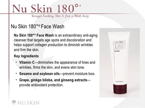 180 Vitamin C Face Wash