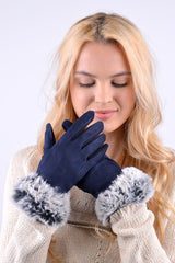Women's Touch Screen Non Slip Grip & Lining Gloves