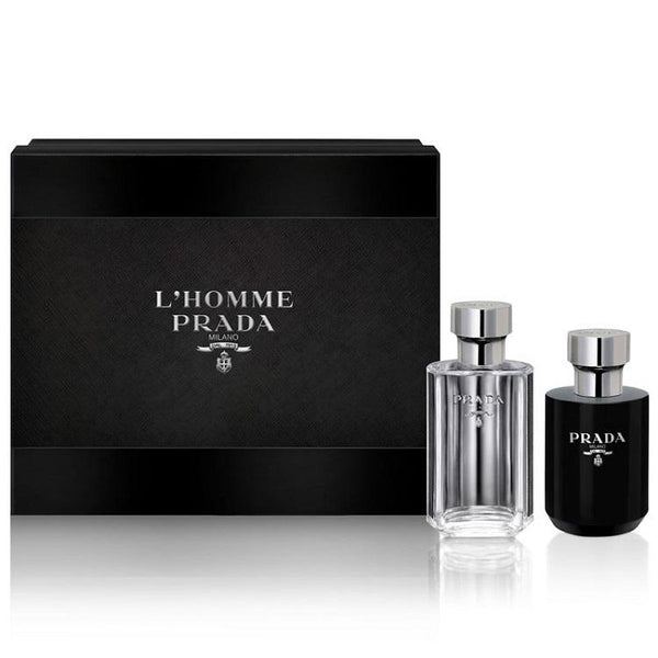 Prada L'Homme Aftershave Gift Set - My Perfume Shop Australia