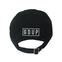 """The 9"" Black Unstructured Hat"