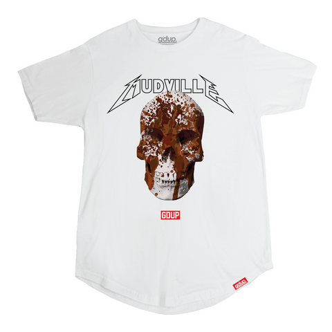 """Mudville"" Concert Scalloped Tee"